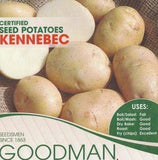 Kennebec Seed Potatoes