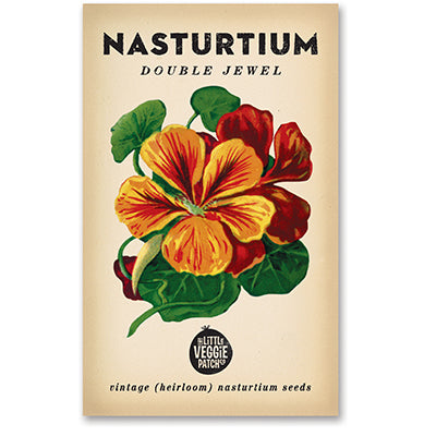 Nasturtium 'Double Jewel' Heirloom Seeds