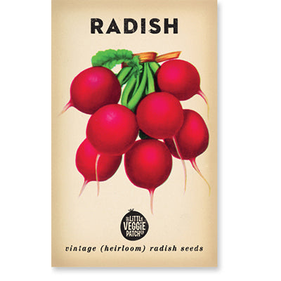 Radish 'Cherry Belle' Heirloom Seeds
