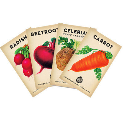 Root Vegetable Seed Pack