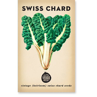 Swiss Chard Heirloom Seeds