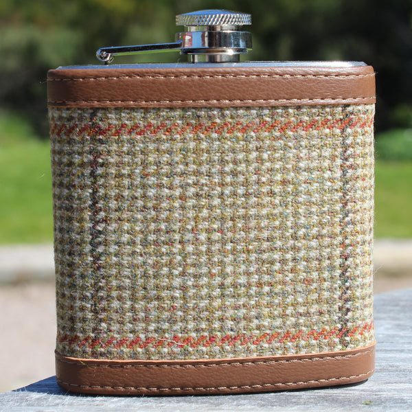Cruachan Tweed Hip Flask