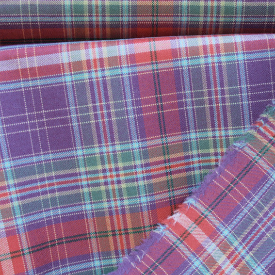 1730 Tartan Worsted Sample