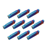 10pcs HRC45 Blue Nano MGMN300-M 3mm Inserts for MGEHR/MGIVR Holders