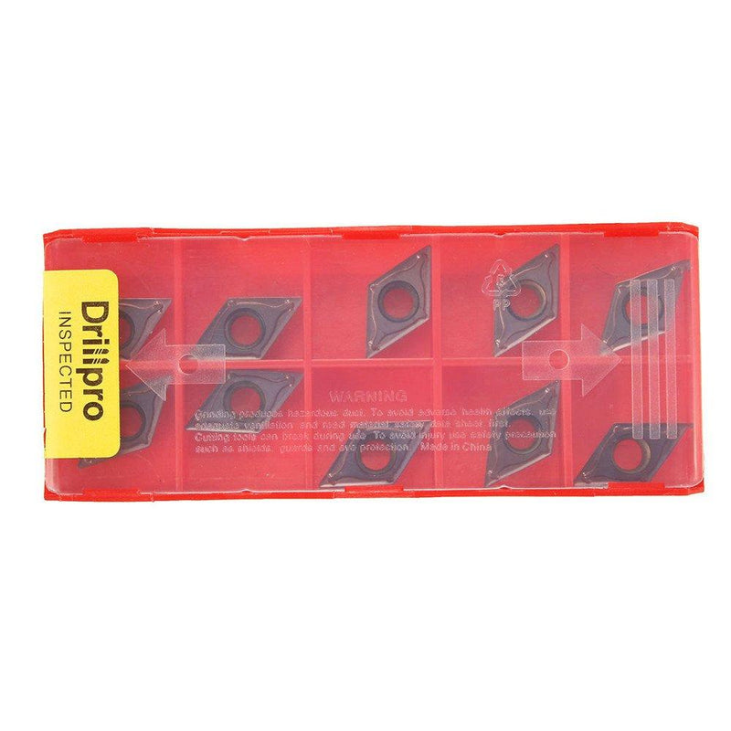 10pcs DCMT11T304 VP15TF Carbide Insert