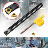 SNR0010K11 Internal Lathe Threading Boring Turning Tool with 11IR AG60 Blade for CNC Machine