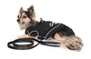 Coat Harness - Black Reflective