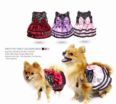 Fancy Lace Dog Dress