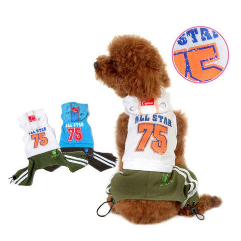 Athletic Dog Suit