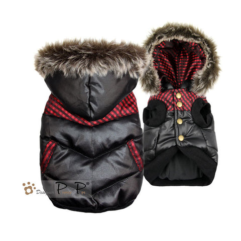 Ski Dog Jacket Red