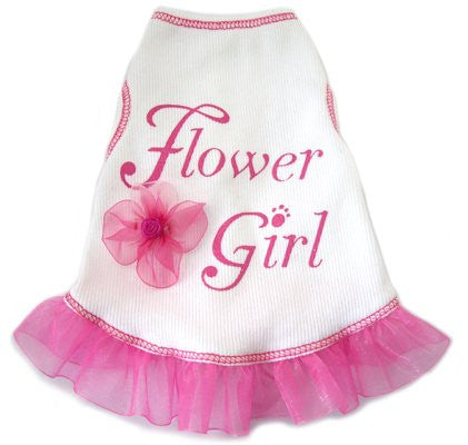Flower Girl Dog Tank