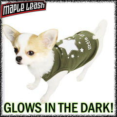 glow in the dark dog shirt