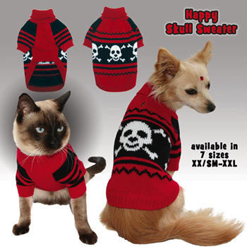 Doggy Skull Sweater