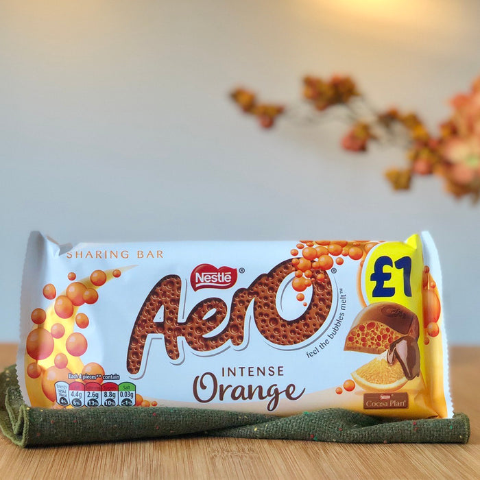 Aero - Intense Orange (Luftschokolade)