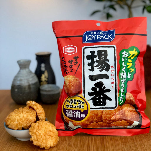 Ageichiban Crispy Fried Soy Sauce Crackers