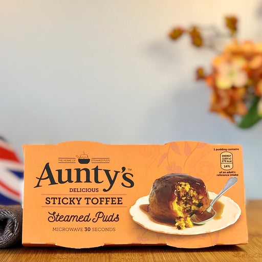 Aunty's - Sticky Toffee Steamed Pudding aus Großbritannien