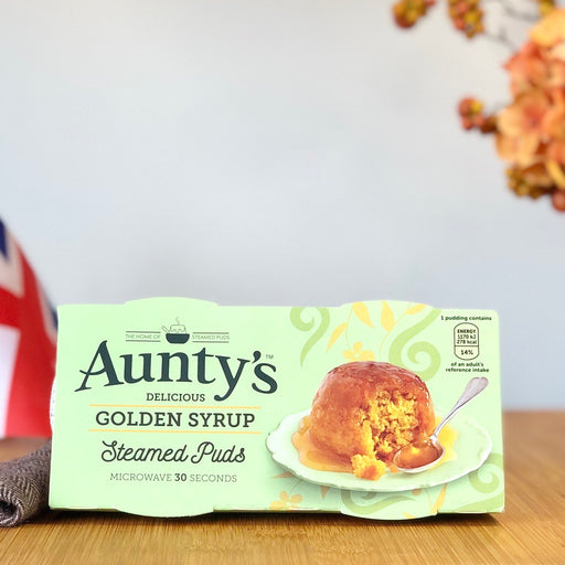 Aunty's - Golden Syrup Pudding aus England