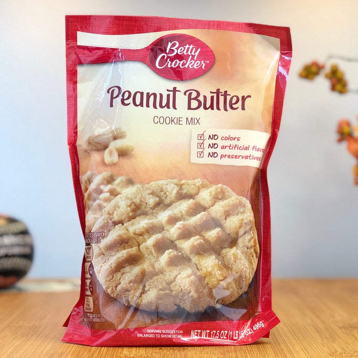Betty Crocker - Peanut Butter Cookie Mix aus Amerika