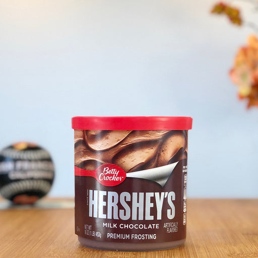 Betty Crocker Premium Frosting - Hershey's Milk Chocolate aus Amerika