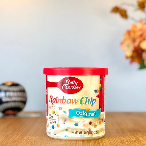 Betty Crocker Rainbow Chip Frosting - Original aus Amerika