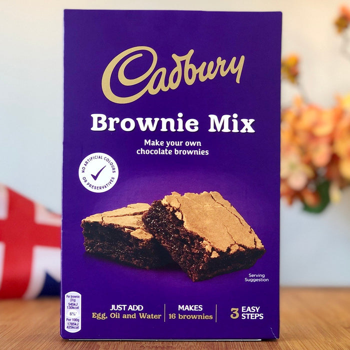 Cadbury Brownie Mix aus England