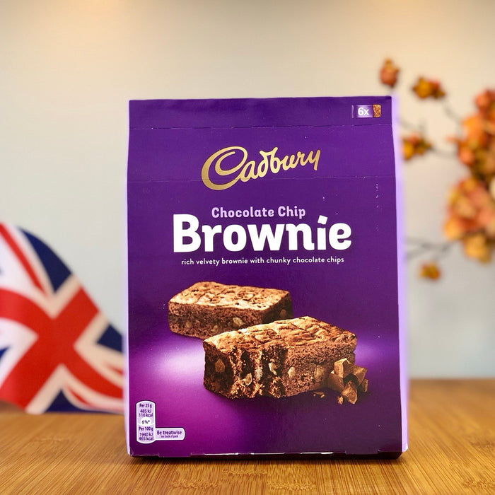 Cadbury - Chocolate Chip Brownie aus England