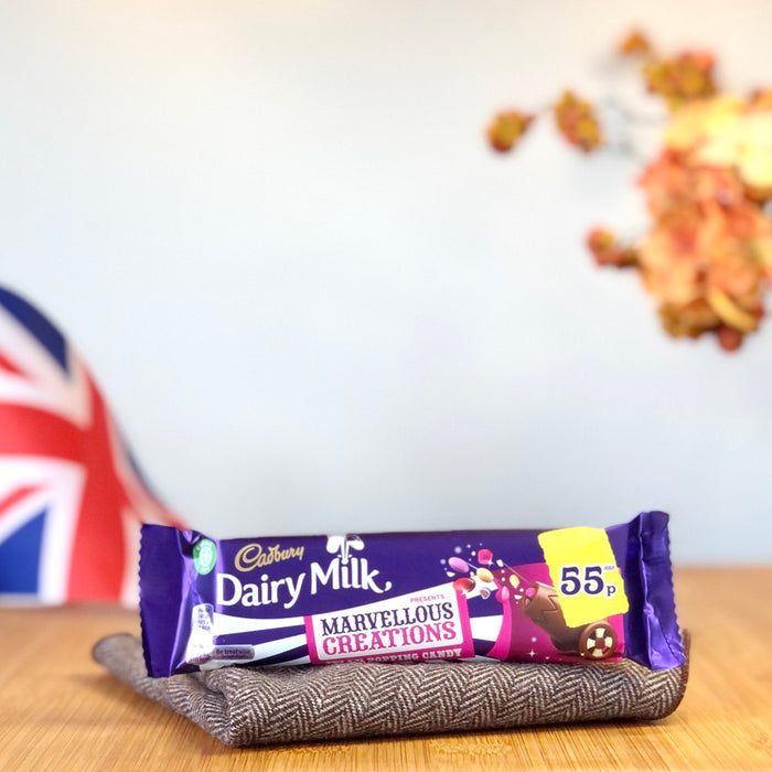 Cadbury Dairy Milk Marvellous Creations Popping Candy aus England