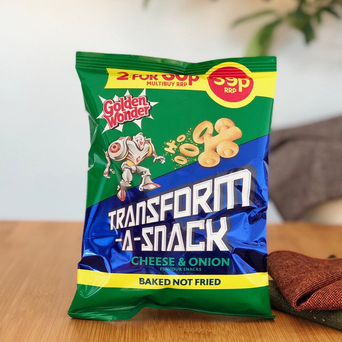Englische Chips Cheese & Onion Transform A Snack