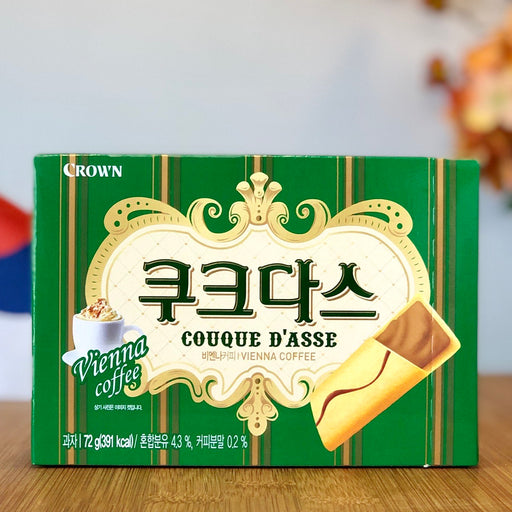 Couque d'asse - Vienna Coffee aus Korea