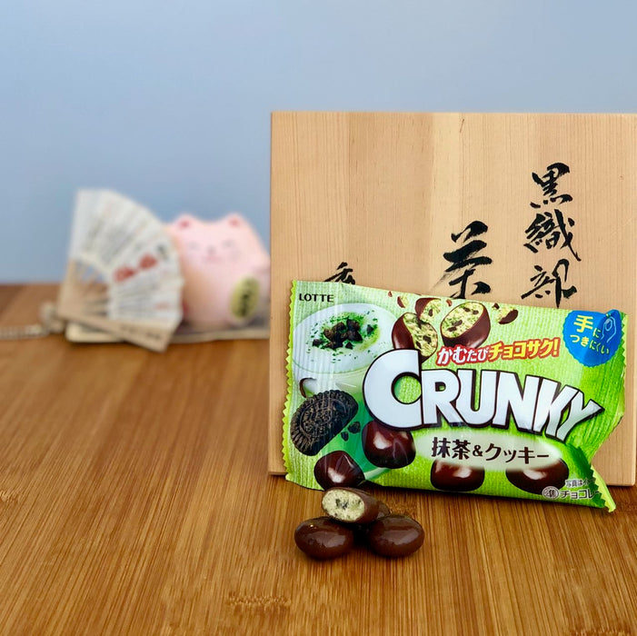 Crunky Matcha Green Tea & Cookie Chocolates