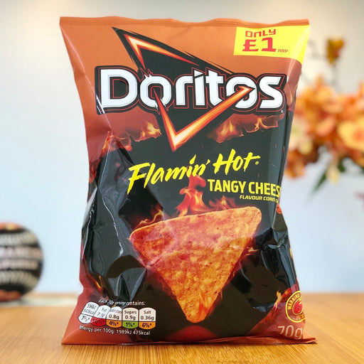 Doritos - Flamin' Hot & Tangy Cheese (70g)