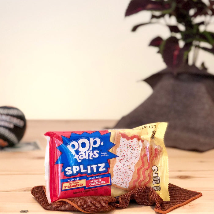 Frosted Strawberry & Drizzled Cheesecake Splitz Pop-Tarts