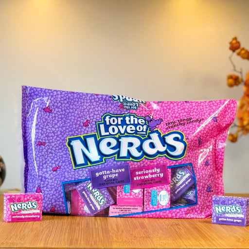 Grape & Strawberry Nerds (große Tüte - 340g) aus Amerika