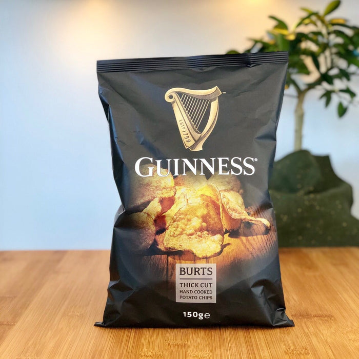 Guinness Hand Cooked Kartoffel Chips - Original (150g)