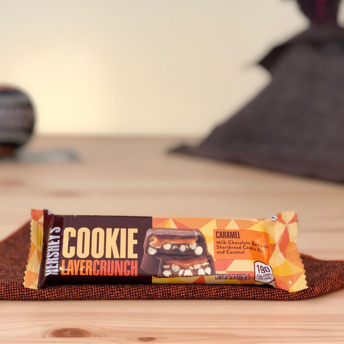 amerikanische Schokoriegel Hershey's Cookie Layer Crunch Caramel