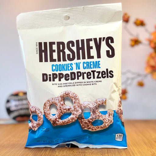 Hershey's Cookies 'n' Creme Dipped Pretzels aus England