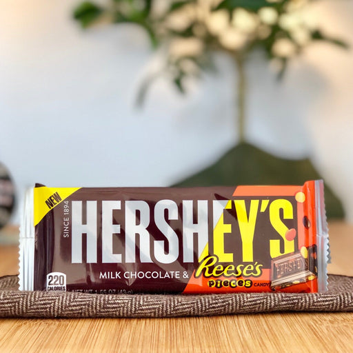 Hershey's Milk Chocolate & Reese's Pieces aus Amerika