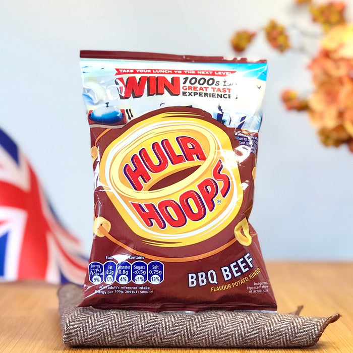Hula Hoops - Barbeque Beef aus England