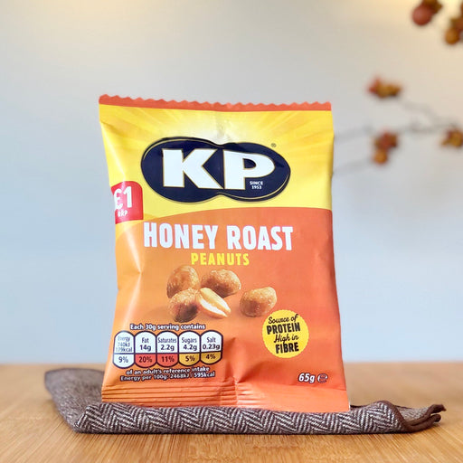 KP Honey Roast Peanuts aus England