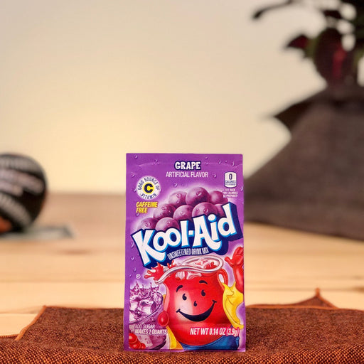 amerikanisches Limonadenpulver Kool-Aid Grape Ungesüßt