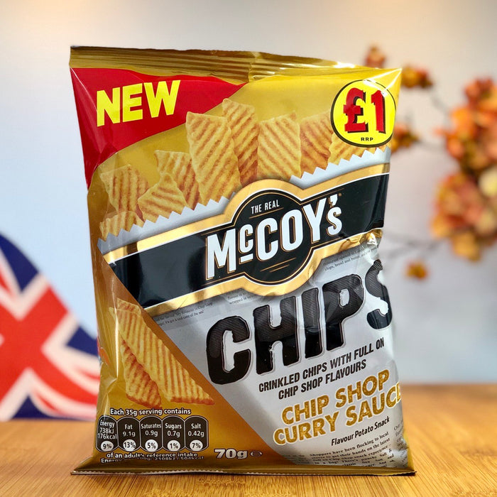 Mccoy's Chips - Chip Shop Curry Sauce