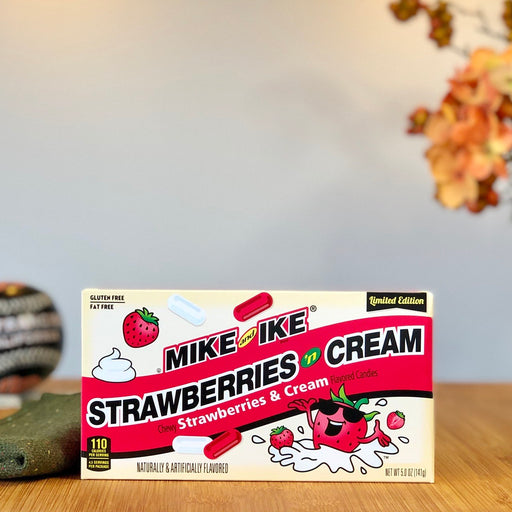 Mike & Ike - Strawberries 'n Cream (Cinema Box) aus Amerika