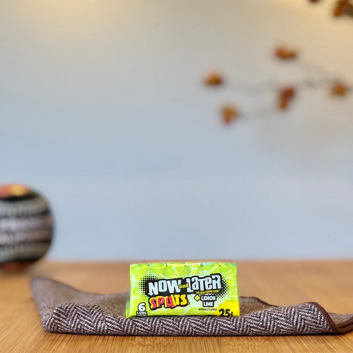 Now & Later - Splits Lemon-Lime aus Amerika