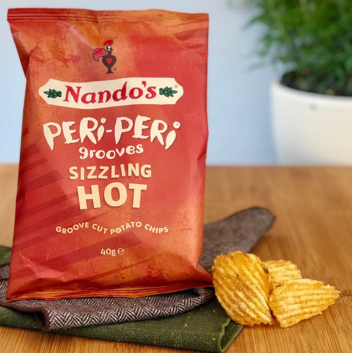 Peri Peri Groove Sizzling Hot Chips (40g)