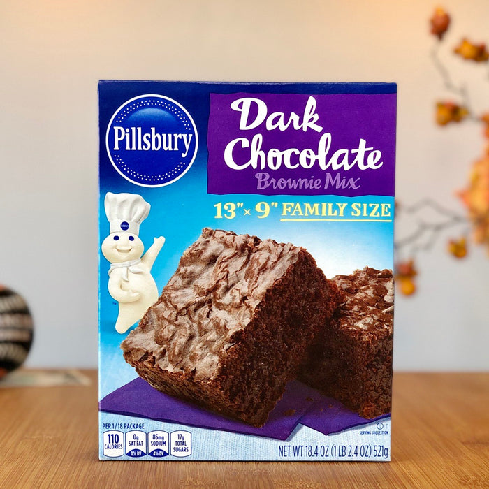 Pillsbury Brownie Mix - Dark Chocolate aus Amerika