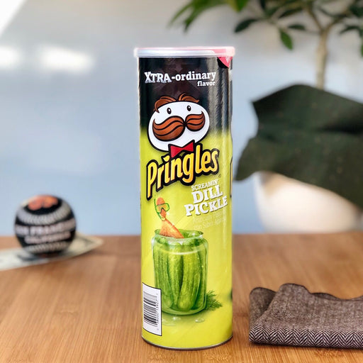Pringles Screamin' Dill Pickle Xtra amerikanische Snacks
