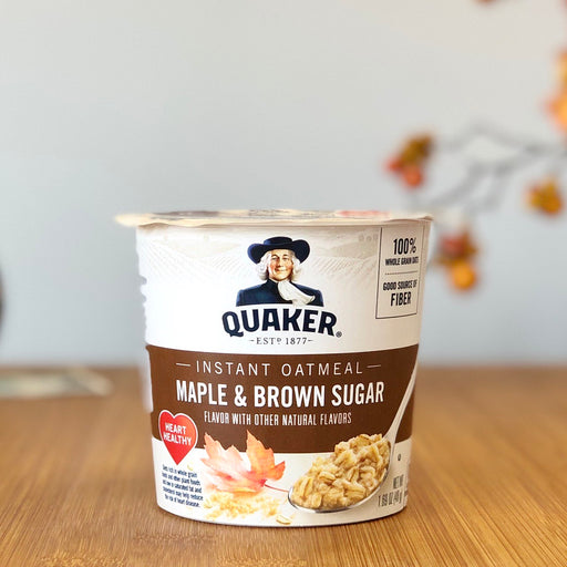 Quaker Instant Oatmeal - Maple & Brown Sugar aus Amerika