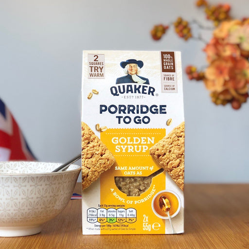 Quaker Porridge To Go - Golden Syrup