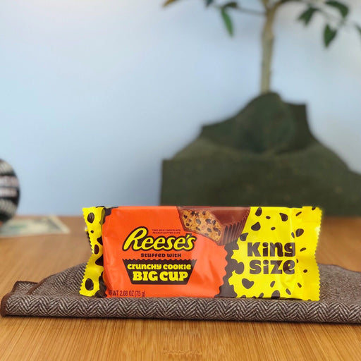 Reese's Crunchy Cookie Peanut Butter Cups (King Size)