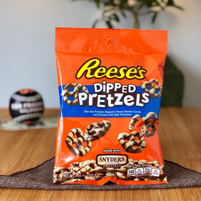 Reese's Peanut Butter Dipped Pretzels